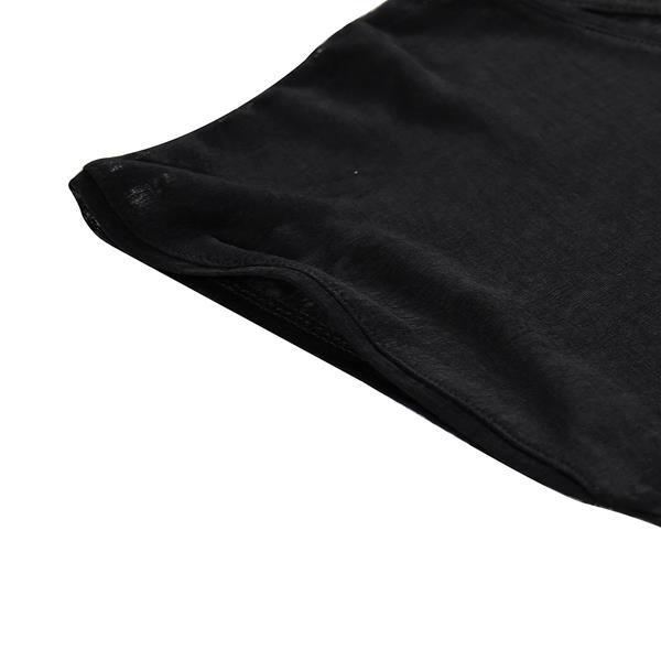 Černé dámské tričko s krátkým rukávem Alpine Pro - velikost S