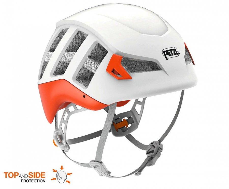 Červená pánská horolezecká helma Meteor, Petzl