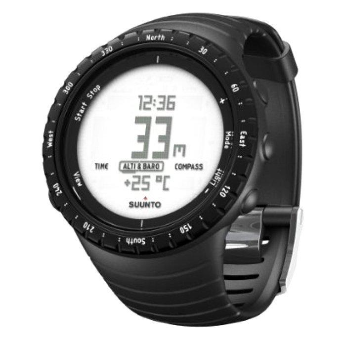 Černé chytré dámské hodinky Core Regular, Suunto