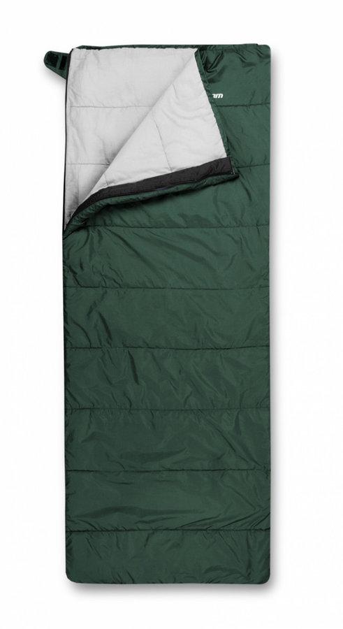 Zelený spací pytel Trimm - délka 210 cm