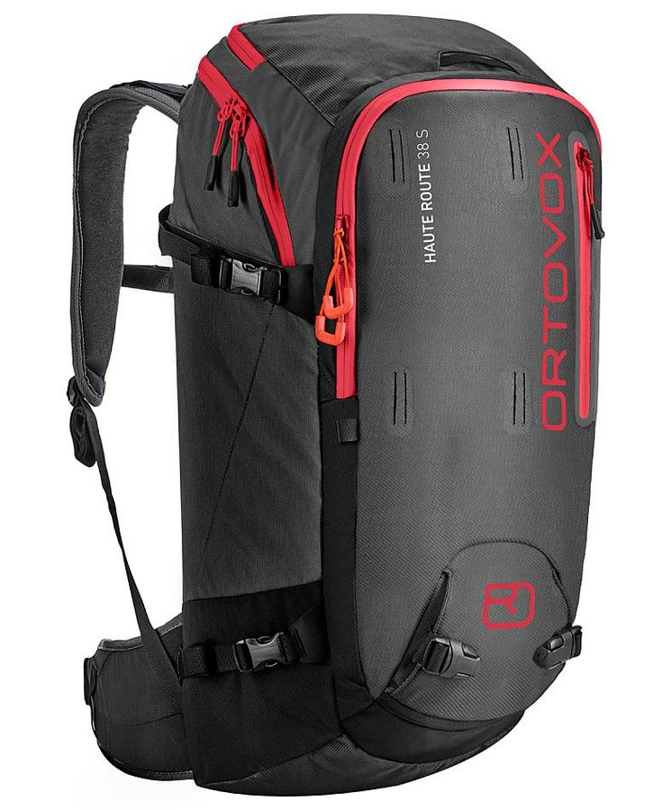 Černý skialpový batoh Ortovox - objem 38 l