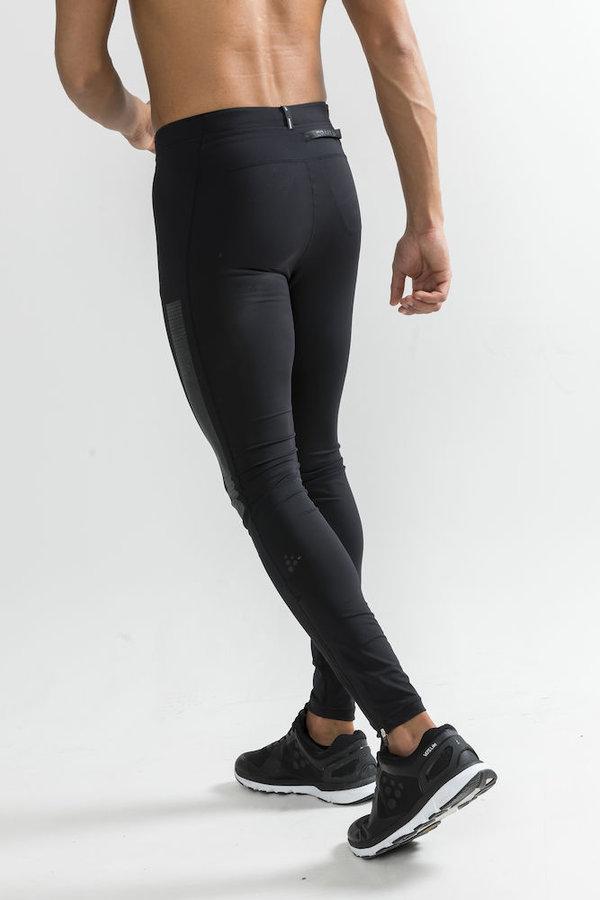 Černé dlouhé pánské cyklistické kalhoty Craft - velikost XL