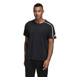 Černé pánské tričko s krátkým rukávem Adidas