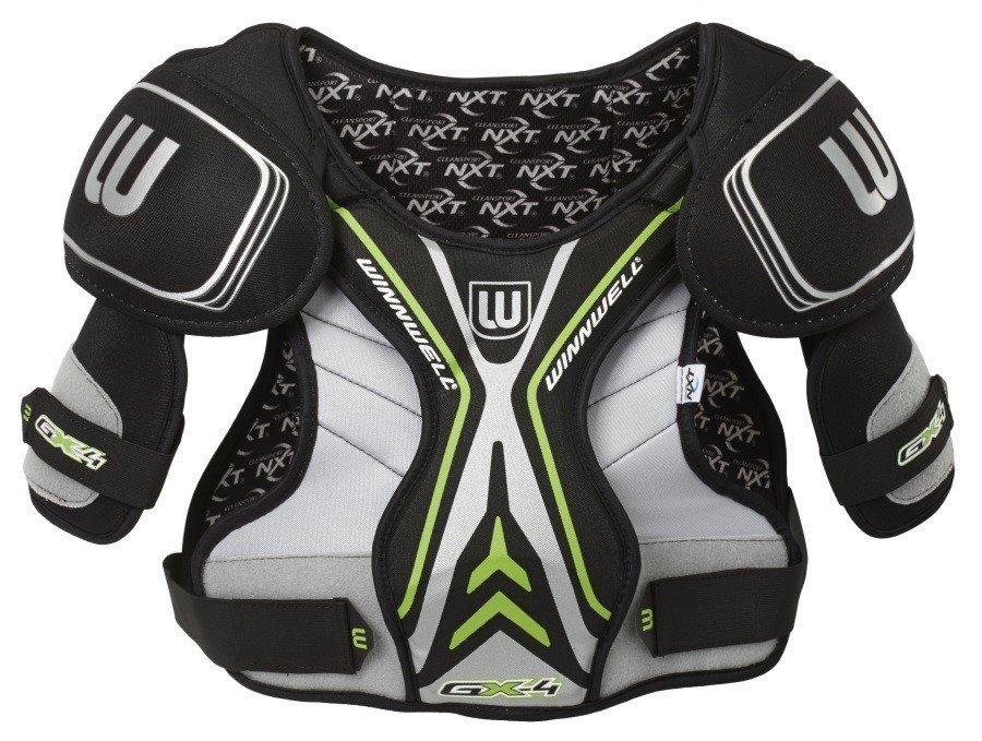 Dětský chlapecký nebo dívčí hokejový chránič ramen GX-4 YTH, Winnwell