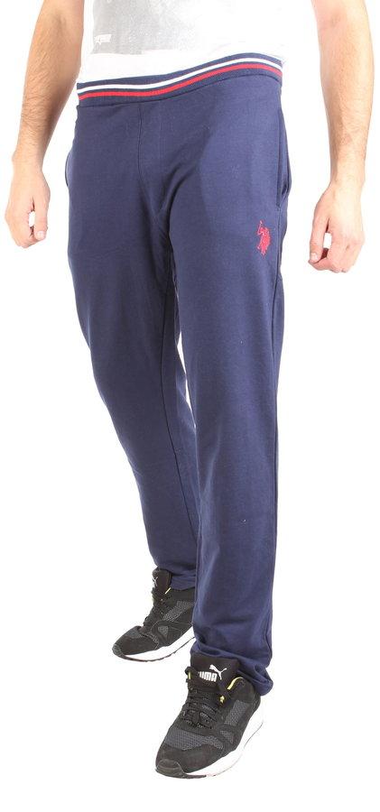 Modré pánské tepláky U.S. Polo - velikost XXL