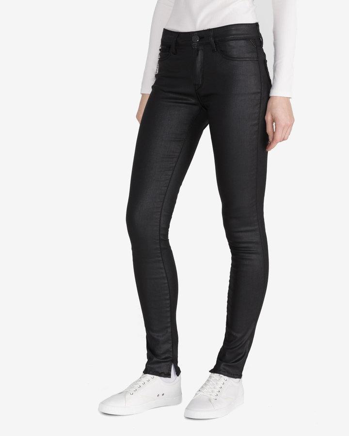 Černé dámské džíny Replay