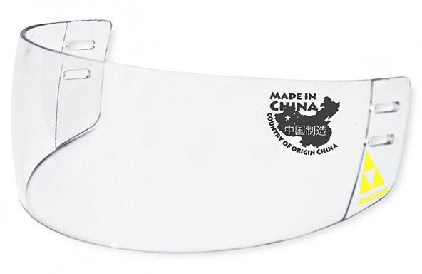 Plexi na hokejovou helmu - Plexi Fischer F85 PRO Provedení: čiré - balení Fólie
