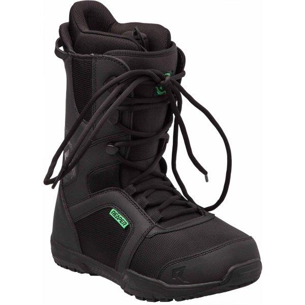 Černé pánské boty na snowboard Reaper