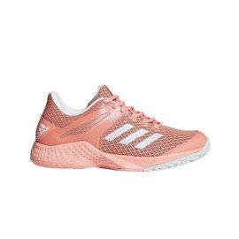 658d6ecec64 ... Růžové dámské tenisové boty - obuv Adizero club