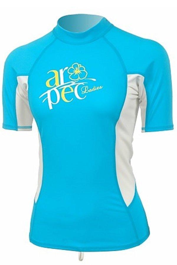 Bílo-modré dámské lycrové tričko MYTH, Aqua Sphere