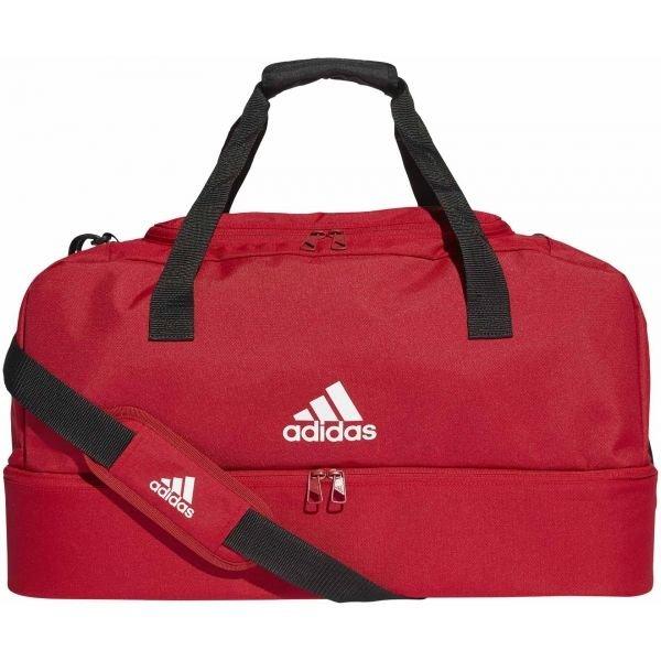 Červená fotbalová taška Adidas