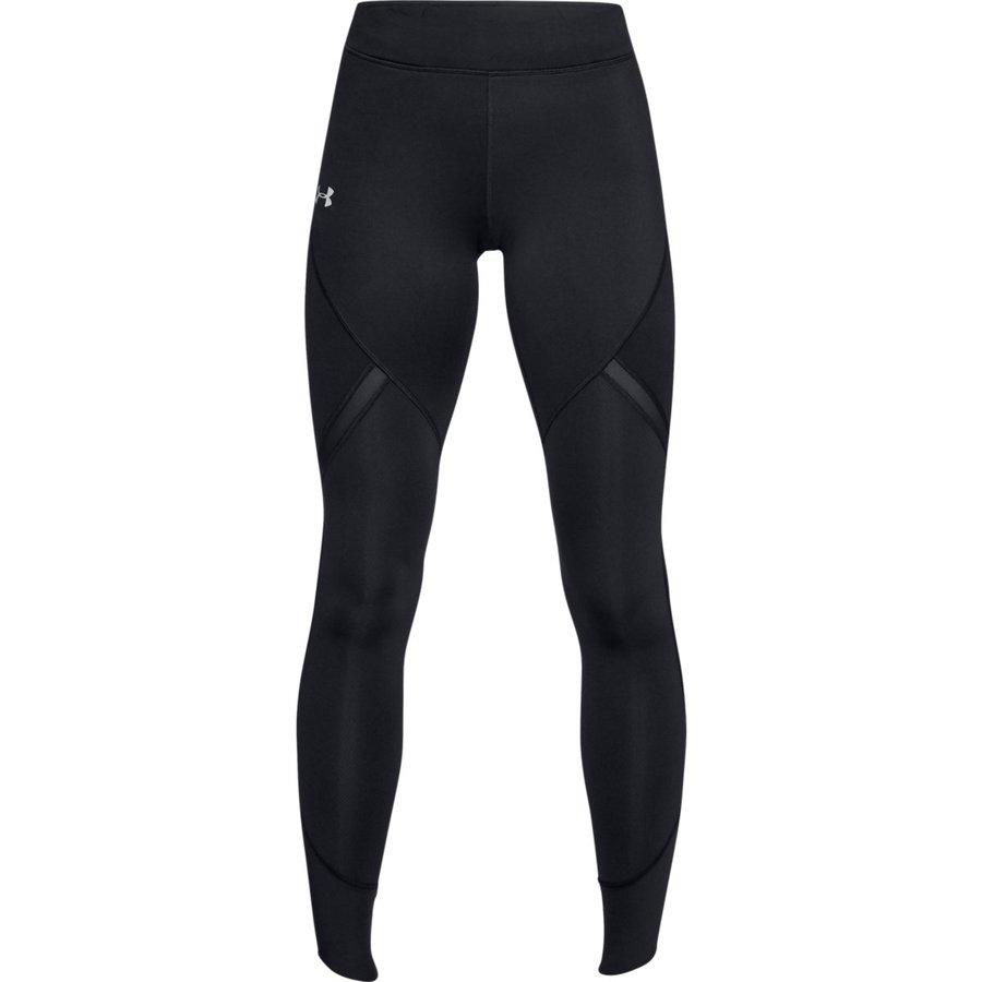 Černé dlouhé dámské běžecké elasťáky Under Armour - velikost S