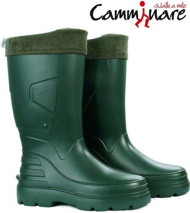 Zelené rybářské holínky Angler, Camminare - velikost 40 EU