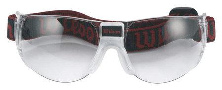 Černé ochranné brýle na squash Omni, Wilson