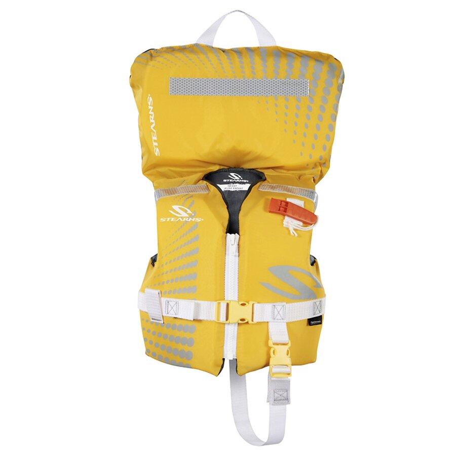 Žlutá dětská plovací vesta Stearns