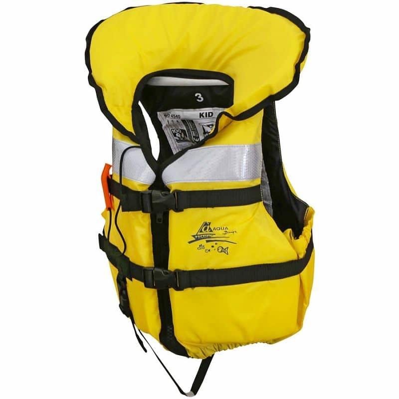 Žlutá dětská záchranná vesta AquaDesign
