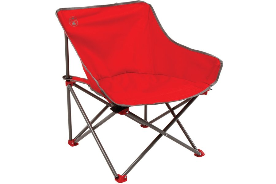 Kempingová židle - Kempingová židle COLEMAN Kickback Chair - červená - 2. jakost