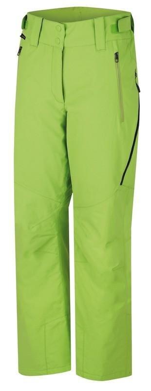 Zelené dámské lyžařské kalhoty Hannah - velikost 36