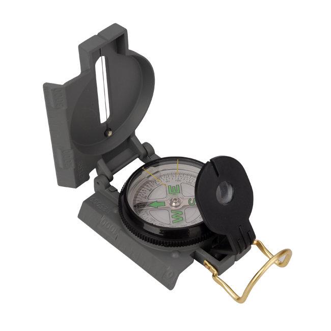 Kompas - Kovový kompas AceCamp Military Compass