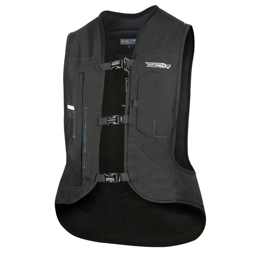 Černá airbagová vesta Helite