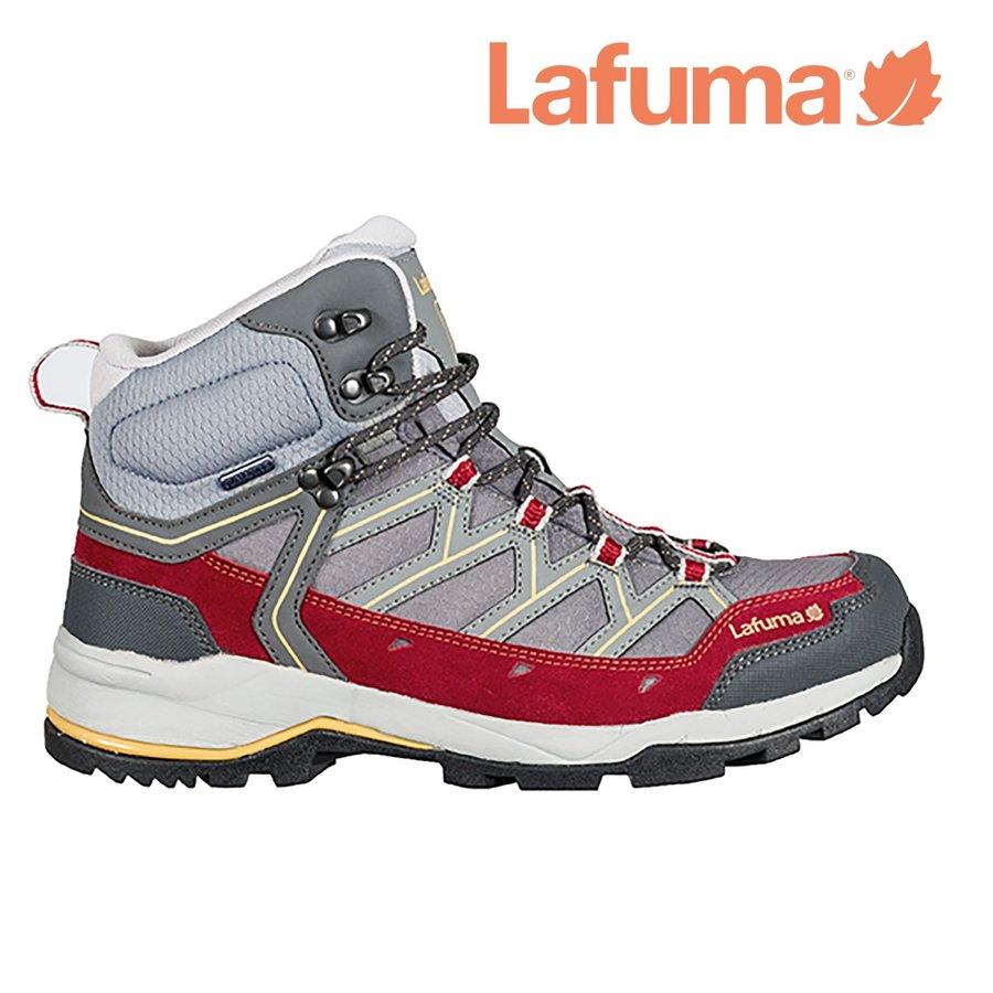 Červené voděodolné dámské trekové boty AYMARA, Lafuma