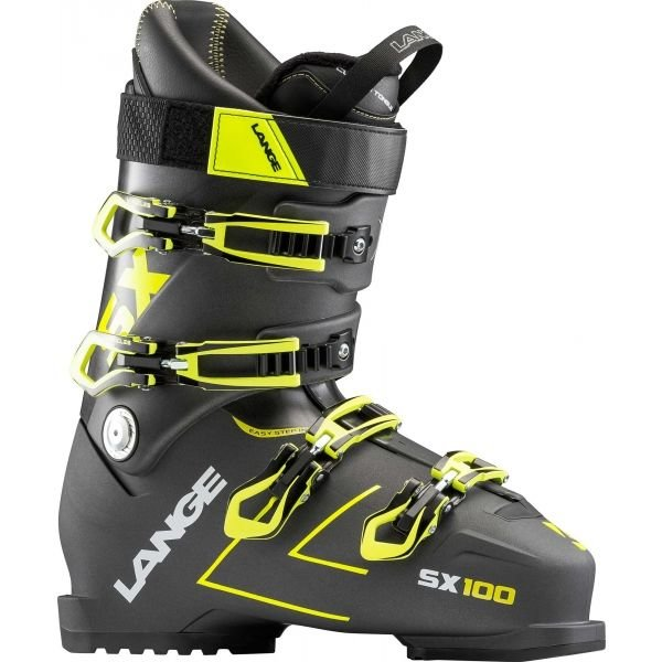 Černé lyžařské boty Lange