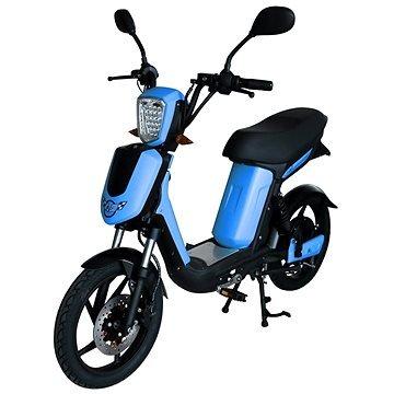 Modrý elektromotocykl E-Babeta, Racceway
