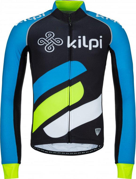 Modrý pánský cyklistický dres Kilpi - velikost S