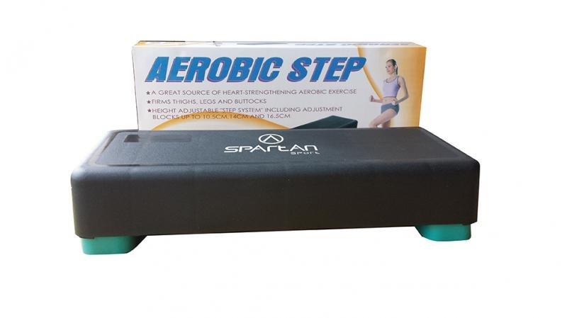 Černý aerobic step Spartan