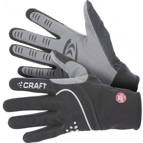 Černé rukavice na běžky Craft