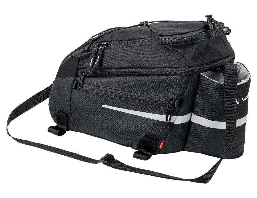 Černá brašna na kolo na zadní nosič Silkroad, VAUDE - objem 11 l