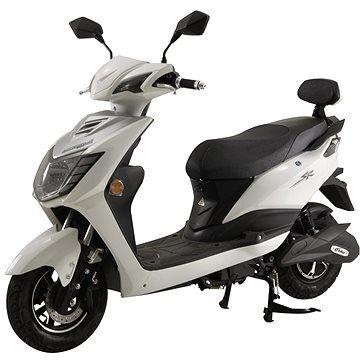 Bílý elektromotocykl City Sport Racing, Racceway