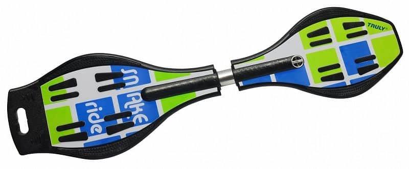 Modro-zelený waveboard Rulyt - nosnost 80 kg