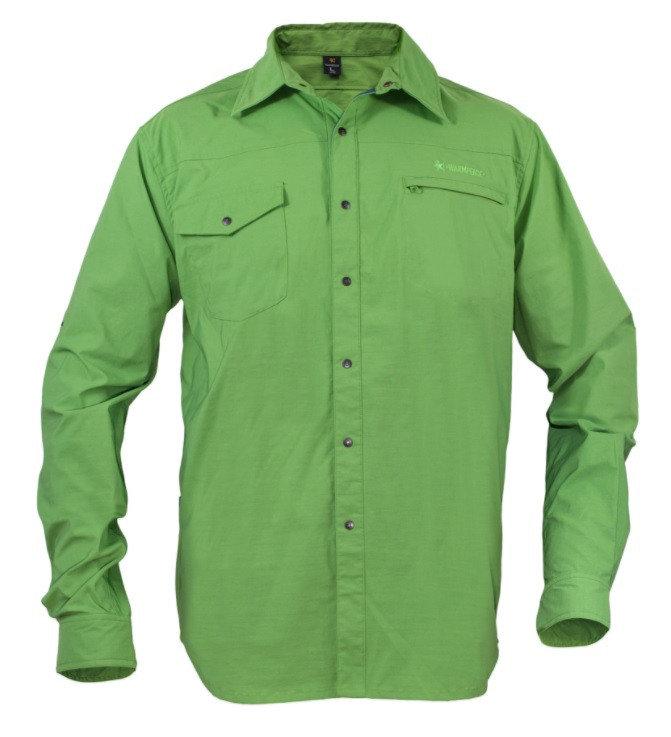 Pánská košile s dlouhým rukávem Warmpeace
