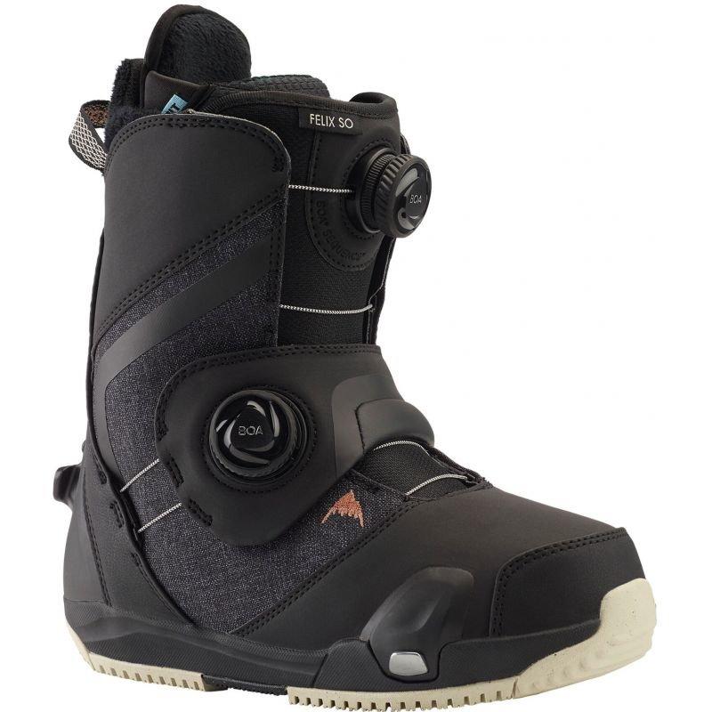Černé pánské boty na snowboard Burton - velikost 41 EU