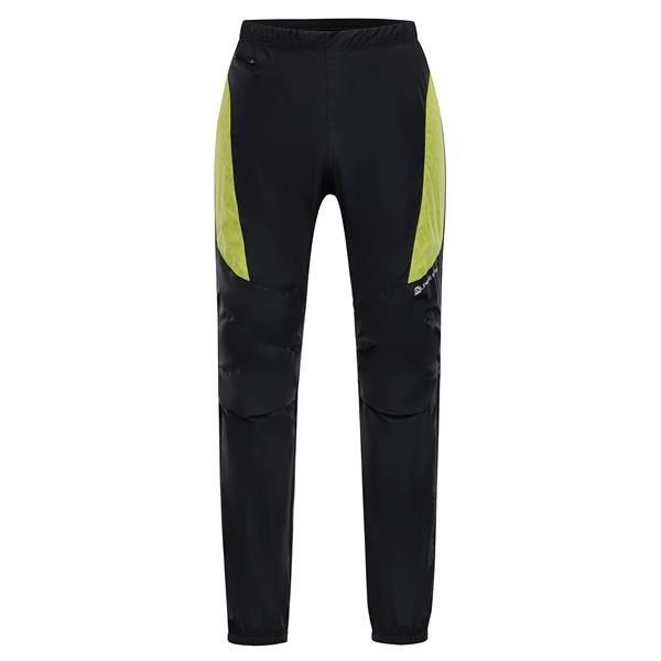 Zelené pánské běžecké kalhoty Alpine Pro - velikost S
