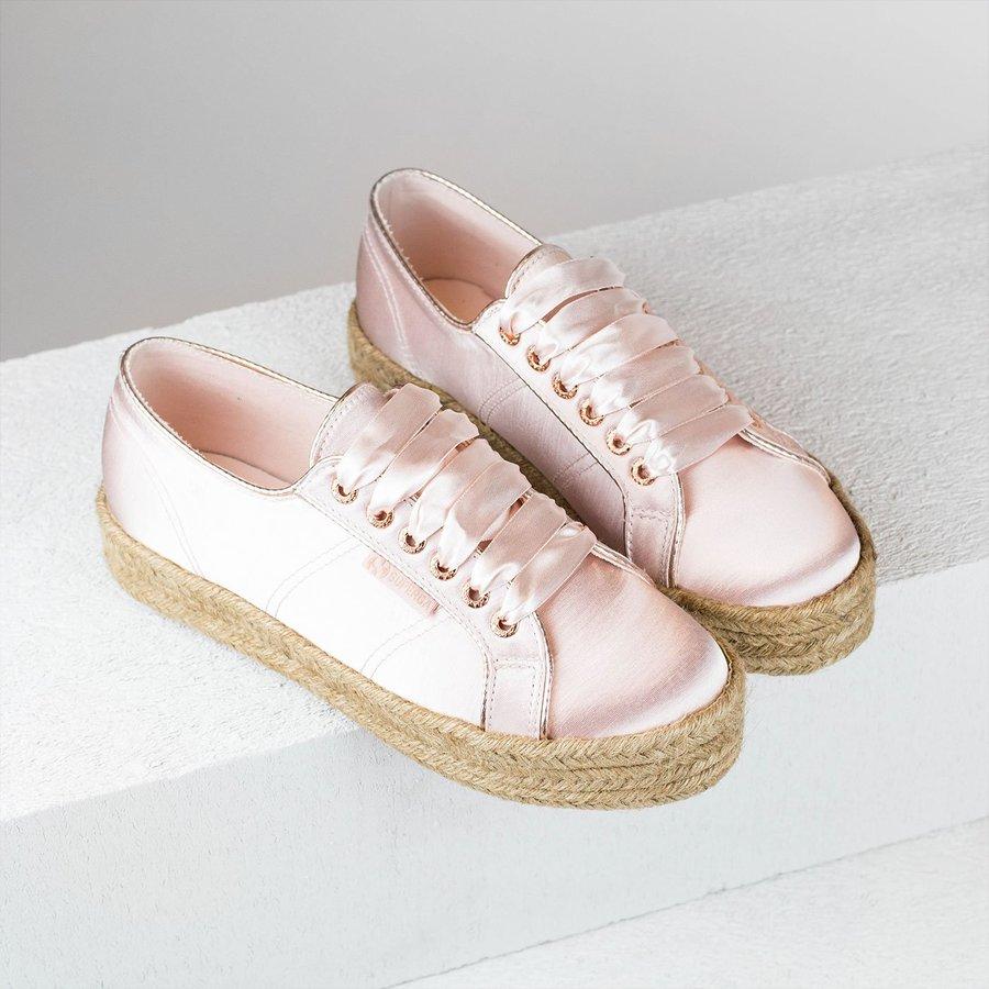 Růžové dámské tenisky Superga
