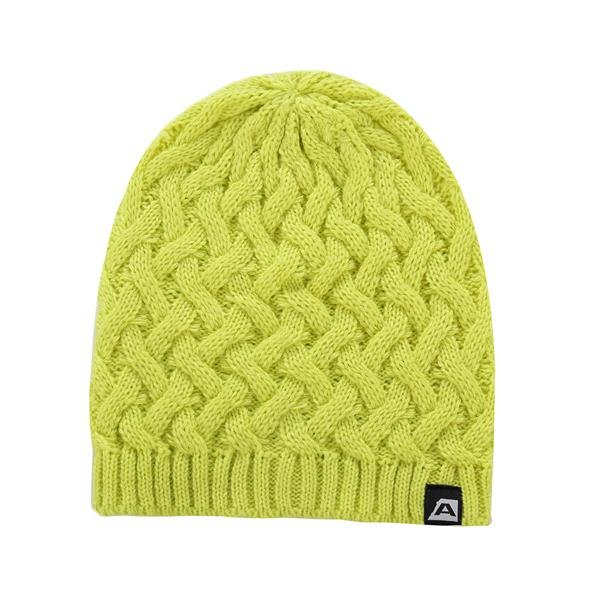 Zelená zimní čepice Alpine Pro - velikost L