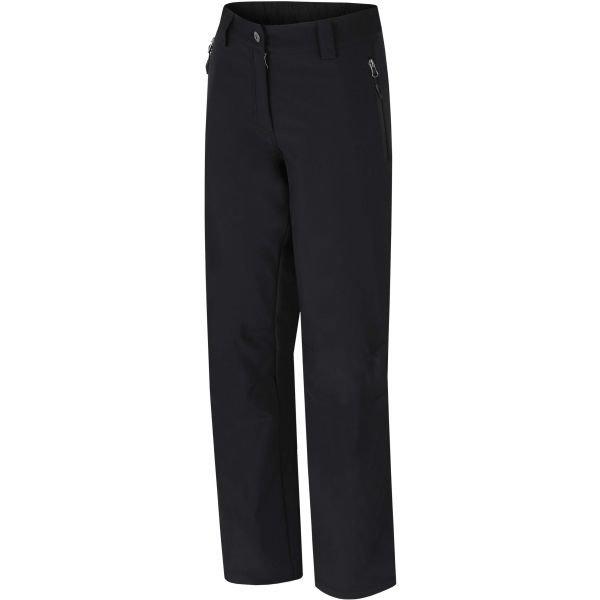 Černé softshellové dámské kalhoty Hannah - velikost 34