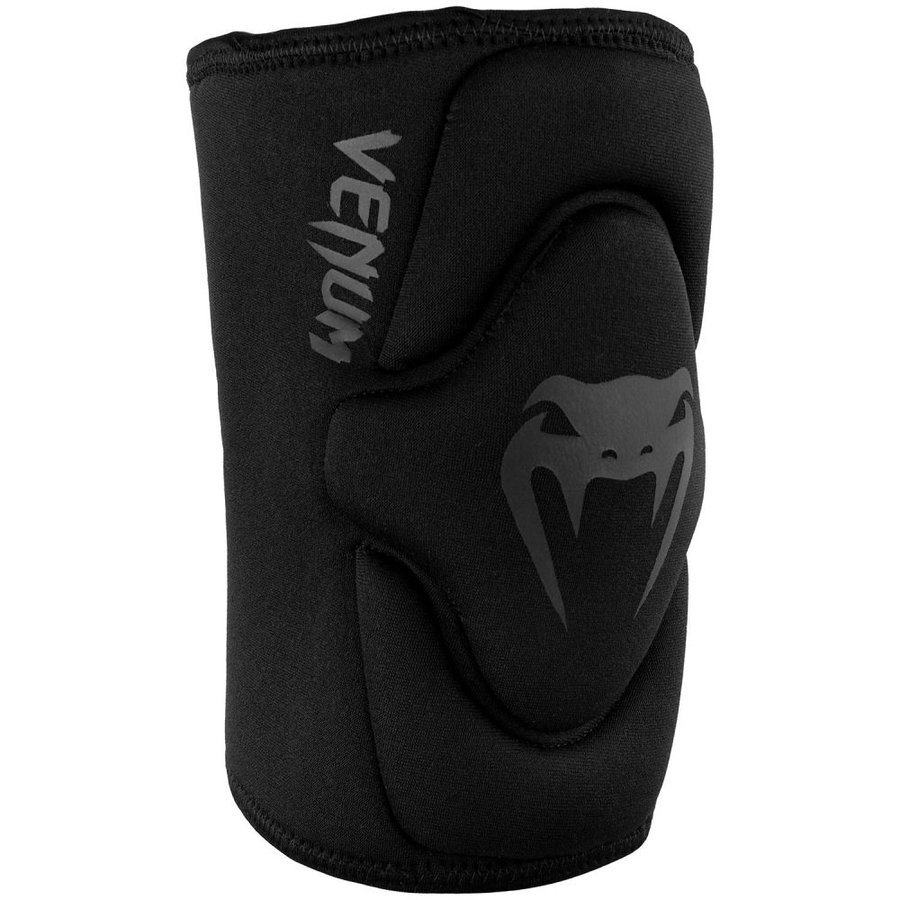 Černé chrániče na kolena Venum - velikost S