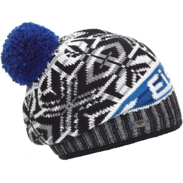 Modro-šedá zimní čepice Eisbär - univerzální velikost