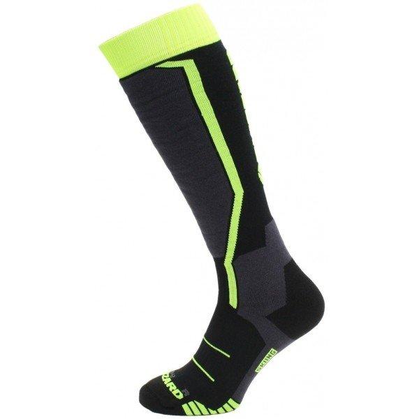 Černo-žluté chlapecké lyžařské ponožky Blizzard