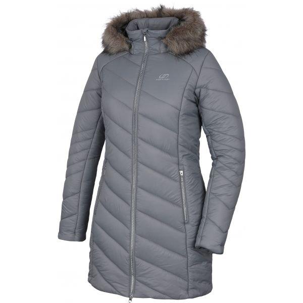 Šedý dámský kabát Hannah