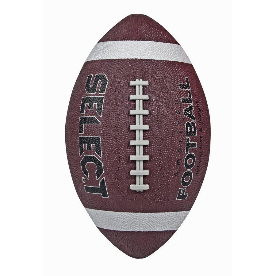 Hnědý gumový míč na americký fotbal American Footbal, Select - velikost 5