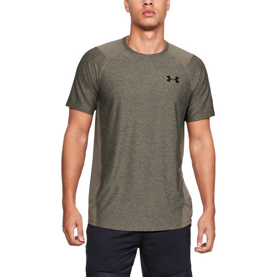 Zelené pánské tričko s krátkým rukávem Under Armour - velikost S