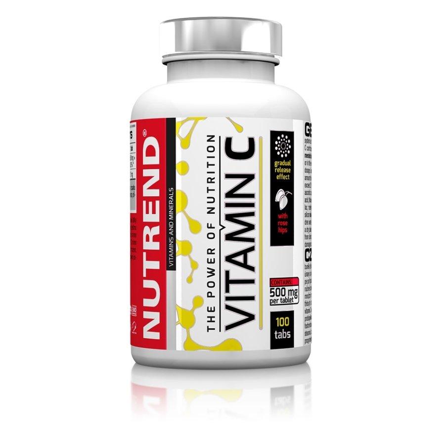 Vitamín C - NUTREND Vitamin C se šípky 100 tablet