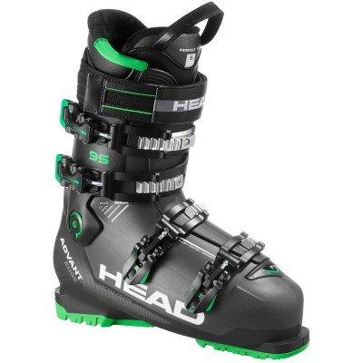 Černé pánské lyžařské boty Head - velikost vnitřní stélky 27 cm