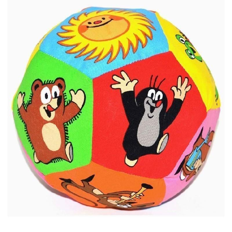 Míč - WIKY - Textilní míč KRTEK