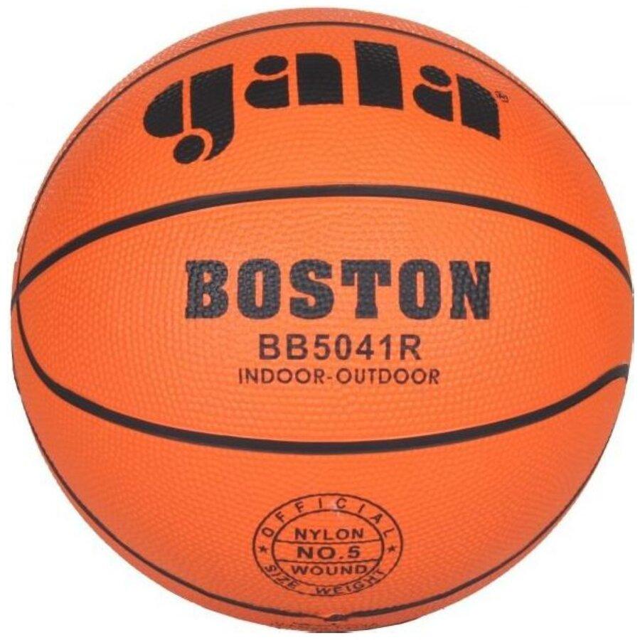 Oranžový basketbalový míč Boston, Gala - velikost 5