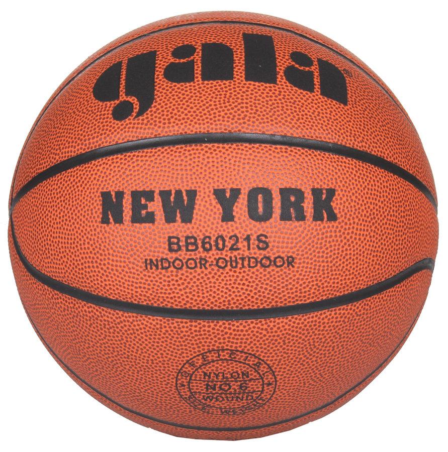 Oranžový basketbalový míč New York, Gala - velikost 6